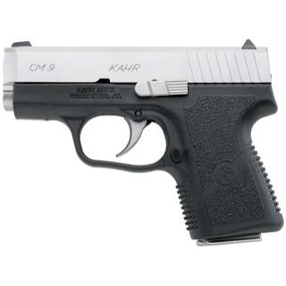 Kahr Arms CM9093 CM9 Standard DAO 9mm 3 6+1 Blk Poly Grip Poly Frame MSS Slide in.