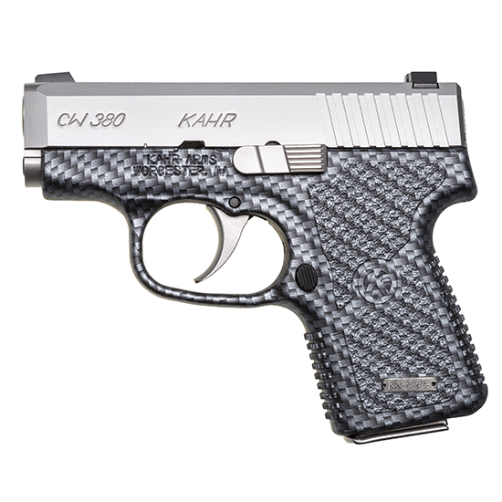 Kahr Arms CW3833BCF CW380 Double 380 ACP 2.58 6+1 Black Polymer Grip Stainless Steel in.