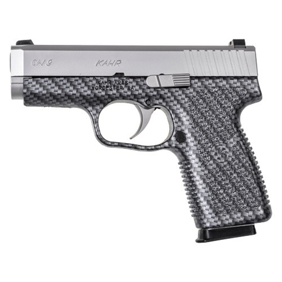 Kahr Arms CW9093BCF CW9 Polymer Single|Double 9mm 3.6 7+1 Blk Polymer Grip in.