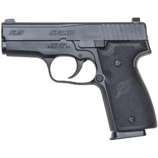 Kahr Arms K9094N K9 9mm Double 9mm Luger 3.5 7+1 Black Wraparound Rubber Grip Black Stainless Steel in.