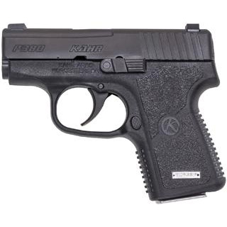 Kahr Arms KP3834N P380 Double 380 Automatic Colt Pistol (ACP) 2.53 6+1 Black Polymer Grip Stainless Steel in.
