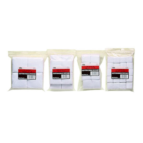 Kleen-Bore CP16B Super Shooter Cotton Patches Cleaning Patches 1.25 Sq in.