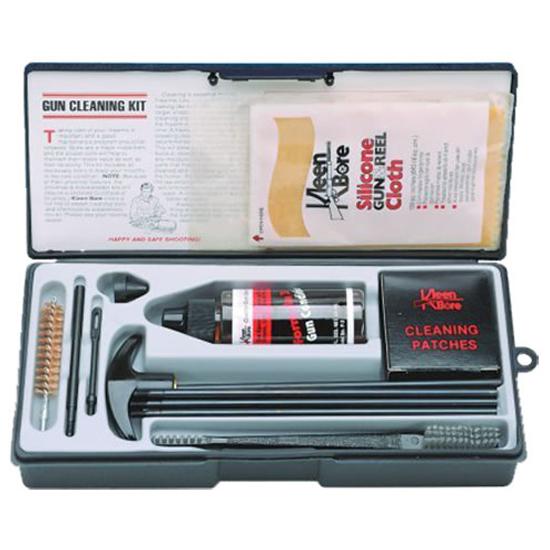 Kleen-Bore K212 Handgun Cleaning Kits w|Steel Rods Cleaning Kit .44|.45