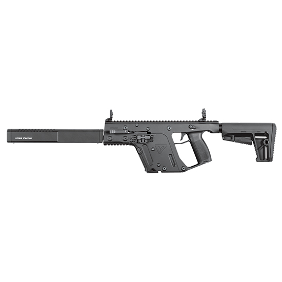Kriss USA KV90CBL20 Vector Gen II CRB Semi-Automatic 9mm 16 17+1 6-Position Black Stk Black in.
