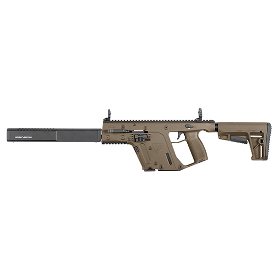 Kriss Vector CRB G2 9mm 16-inch 17rd M4 Stock FDE