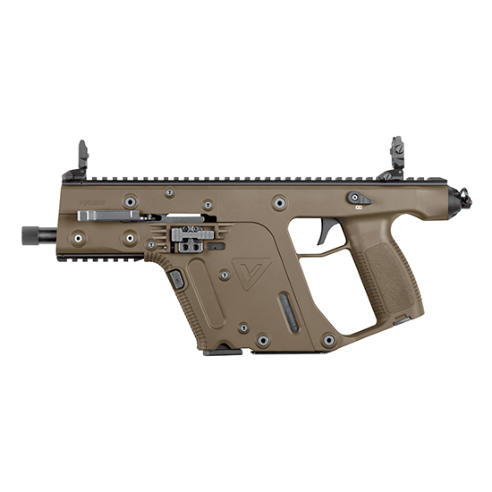 Kriss Vector Gen 2 9mm 5.5-inch Threaded 17rd Flat Dark Earth