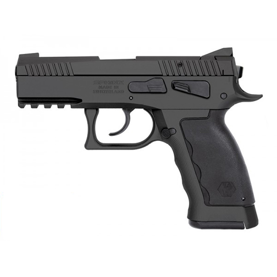 Kriss USA WSDCME085 Sphinx SDP Compact Single|Double 9mm 3.7 17+1 Black Polymer Grip in.