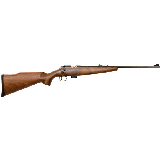 Keystone 722 Sporter Bolt Action Rifle .22 LR 20&quot Barrel 7 Rounds Walnut Stock Blued