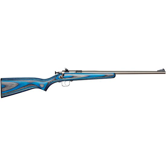 Crickett KSA2222 Single Shot Bolt 22 Long Rifle (LR) 16.12 1 Laminate Blue Stk Blued in.