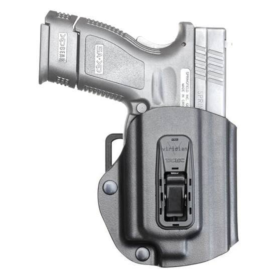Viridian Right TacLoc Holster for Springfield XD|XDm 9|40|45 w| X5L ECR Equipped