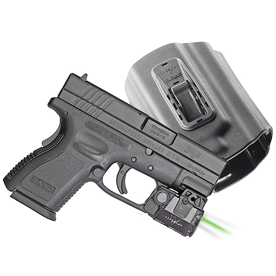 Viridian C5LPACKC3 C5L C3 with Holster Green Laser Springfield XD|XDM Trigger Guard