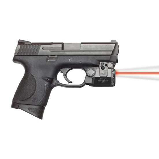 Viridian C5LR C5LR Sub-Compact Laser|Light Red Laser Universal w|Accessory Rail Trigger Guard