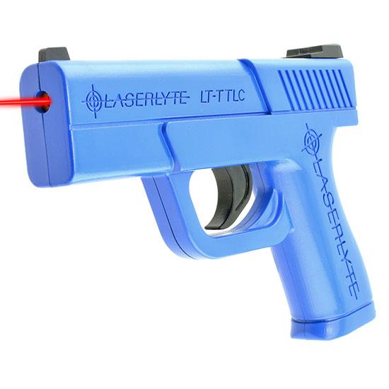 LaserLyte LTTTLC Trigger Tyme Laser Compact Pistol Blue