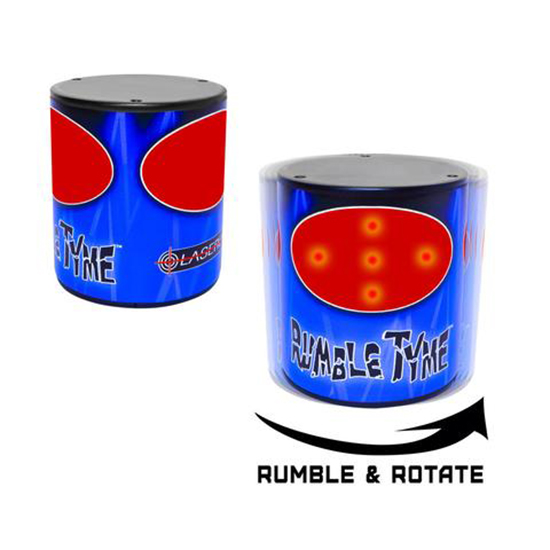 LaserLyte Rumble Tyme Laser Trainer Targets 2 Pack