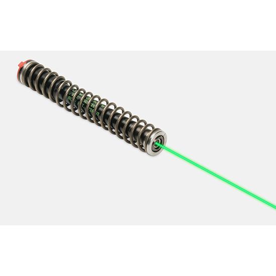 LaserMax LMS-1141G Guide Rod Green Laser For Glock 17 22 31 37 (Gen 1-3) Black