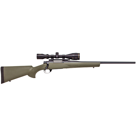 Howa HGK63108+ Hogue Gameking Scope Package Bolt 308 Winchester|7.62 NATO 22 5+1 Hogue Overmolded Green Stk Blued in.