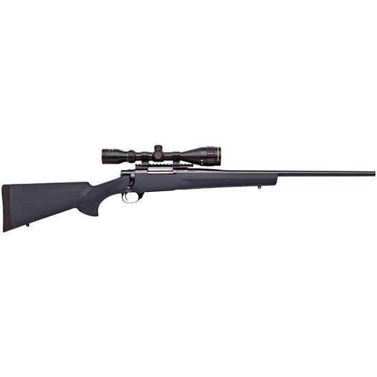 Howa HGK63707+ Hogue Gameking Scope Package Bolt 7mm Remington Magnum 24 3+1 Hogue Overmolded Black Stk Blued in.