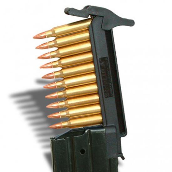 maglula SL52B StripLULA Loader 223 Remington|5.56 NATO 10 rd Ruger Mini-14 Polymer Black Finish
