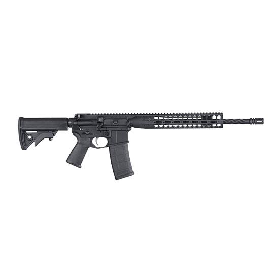 LWRC ICDIR5B16 LWRCI Direct Impingement Semi-Automatic 223 Remington|5.56 NATO 16.1 30+1 Adjustable Black Stk Black in.