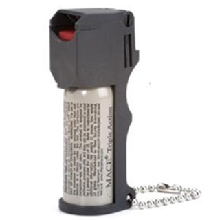 Mace 80141 Triple Action Pepper Spray Contains 5, One Second Bursts 11 gr 6-12ft