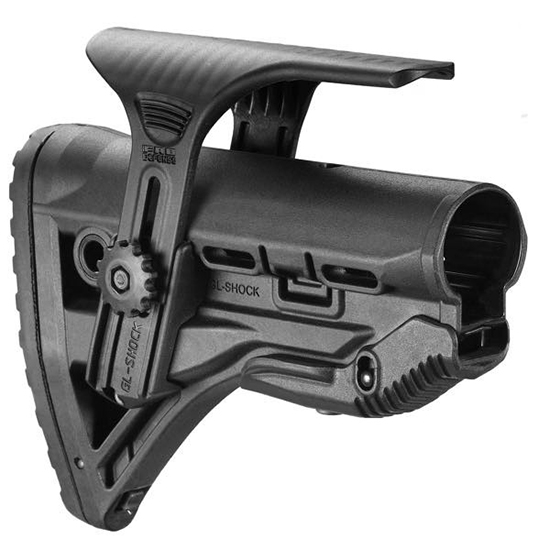 MAKO GL-Shock AR 15 Stock Black With Riser GL-SHOCKCP
