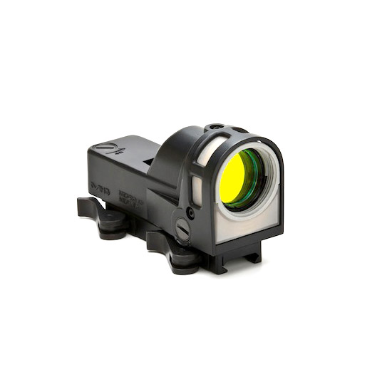 Meprolight M21T M-21 1x 30mm Obj Unlimited Eye Relief 12 MOA Triangle Black