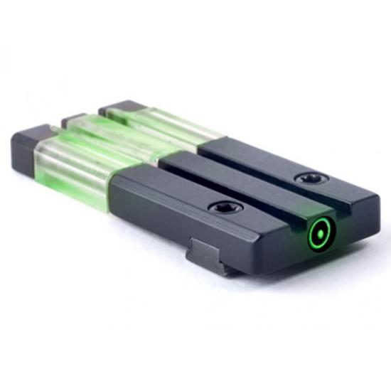 Mako Group Fiber-Tritium Green Circle Dot Sight Glock