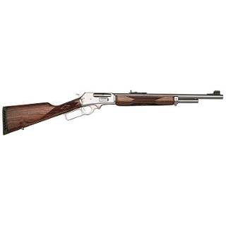 Marlin 70464 1895 Guide Gun Lever 45-70 Government 18.5 4+1 Black Walnut Stk Stainless Steel in.
