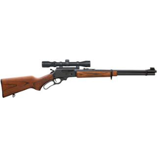 Marlin 70521 336 with Scope Lever 30-30 Winchester 20 6+1 Hardwood Stk Blued in.