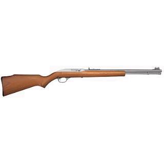 Marlin 70630 60 Semi-Automatic 22 Long Rifle 19 14+1 Laminate Walnut Stk Stainless Steel in.