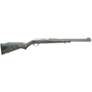 Marlin 70660 60 Laminate Semi-Automatic 22 Long Rifle 19 14+1 Laminate Black|Gray Stk Stainless Steel in.