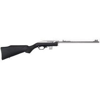 Marlin 70670 70 PSS Semi-Automatic 22 Long Rifle 16.25 7+1 Synthetic Black Stk Stainless Steel in.