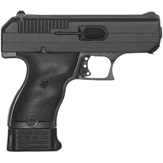 Hi-Point 00916 9mm Double 3.5 8+1 Black Polymer Grip Black in.