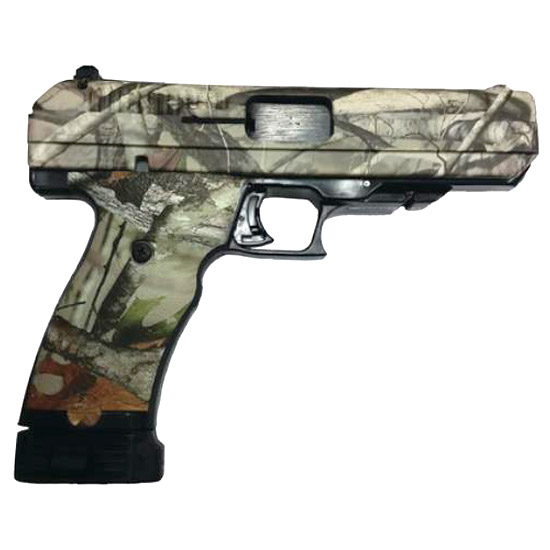 Hi-Point 34010WC Single 40 Smith & Wesson (S&W) 4.5 10+1 Woodland Camo Grip|Frame in.