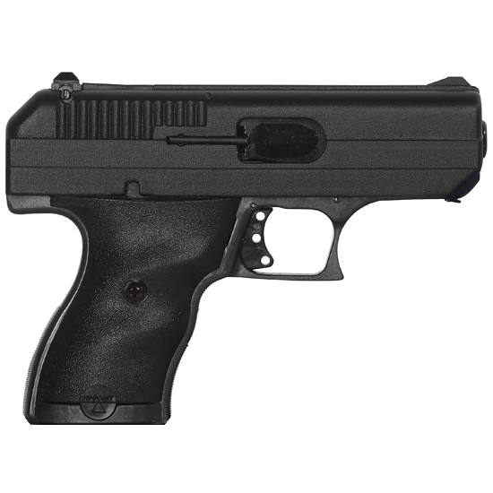 Hi-Point 916HSP Home Security Package w|Lock Box Double 9mm Luger 3.5 8+1 3-Dot Black Polymer Grip Black in.