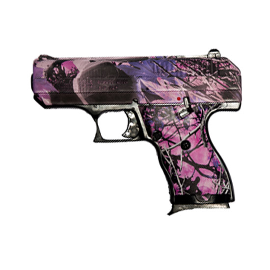 Hi-Point CF380CPI 380 ACP Pink Camo Single 380 Automatic Colt Pistol (ACP) 3.5 8+1 Muddy Girl Polymer Grip|Frame in.