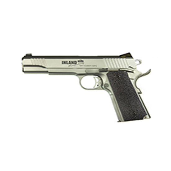 Inland Mfg ILM1911TC 1911 Custom Carry Single 45 ACP 5 7+1 Black Ergo XT Grip Stainless in.
