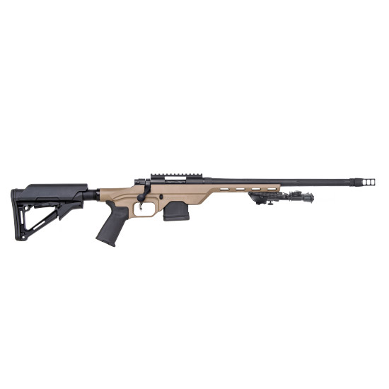 Mossberg MVP Light Chassis Blued|Tan 5.56mm 16.25-inch 11 Rds