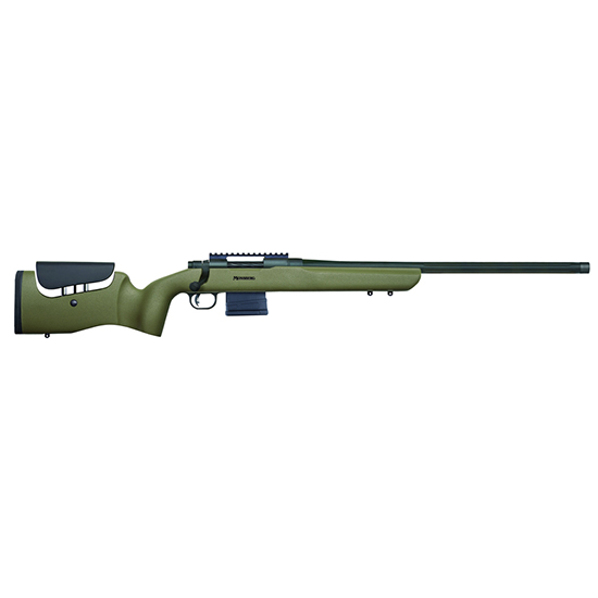 Mossberg 27784 MVP LR Bolt 6.5 Creedmoor 22 FB TB 10+1 Synthetic Benchrest Adjustable Comb OD Green|Black Stk Matte Blued in.