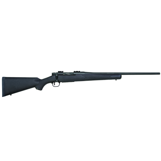 Mossberg 27909 Patriot Synthetic Bolt 6.5 Creedmoor 22 FB 5+1 Synthetic Black Stk Blued in.