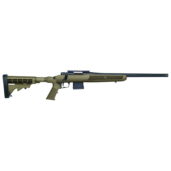Mossberg 27977 MVP Flex Bolt 223 Remington|5.56 NATO 18.5 10+1 6-Position Tan Stk Blued in.
