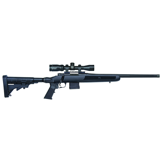 Mossberg MVP Flex Black 5.56NATO | .223Rem 18.5-inch 10rd with Vortex Crossfire 2-7x32