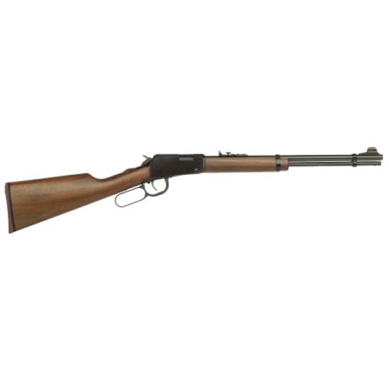 Mossberg 43000 464 Straight Grip Lever 22 Long Rifle 18 14+1 Hardwood Stk Blued in.