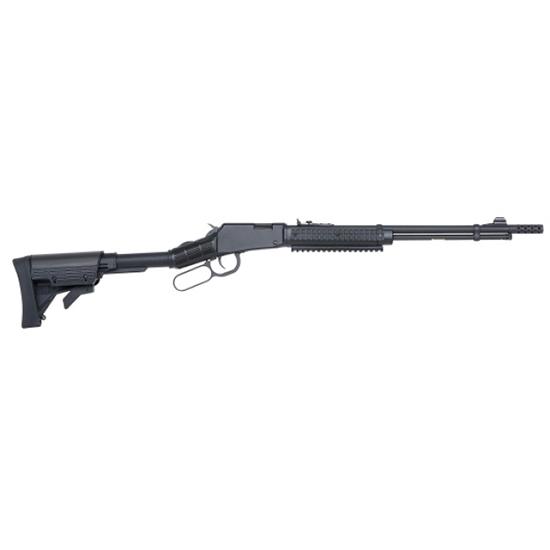 Mossberg 43027 464 SPX Lever 22 Long Rifle 18 13+1 6-Position Black Stk Black in.