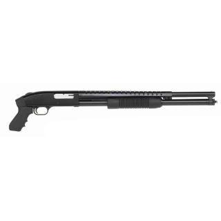 Mossberg 50580 500 Tactical Pump 12 Gauge 20 3 in.  7+1 Synthetic Pistol Grip Black Blued in.