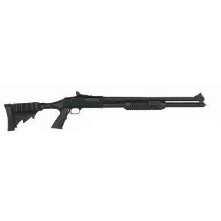 Mossberg 50589 500 Pump 12 Gauge 20 3 in.  7+1 6-Position Adjustable Synthetic w|Pistol Grip Matte Blued in.
