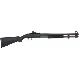 Mossberg 50771 590A1 Tactical SPX Pump 12 Gauge 20 CB 3 in.  8+1 Synthetic Black Stk Black Parkerized in.