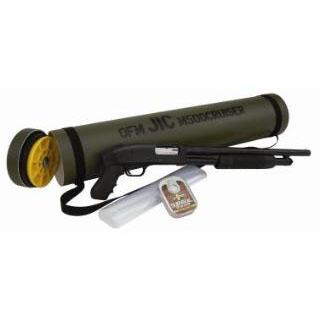 Mossberg 51340 500 JIC Cruiser Pump 12 Gauge 18.5 3 in.  5+1 Synthetic Pistol Grip Black Blued in.