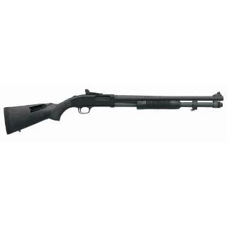 Mossberg 51668 590 Pump 12 Gauge 20 3 in.  8+1 Synthetic Blk Parkerized in.
