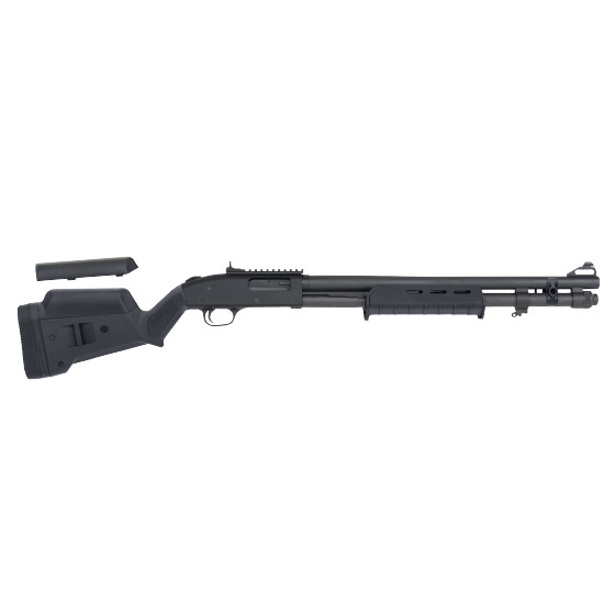 Mossberg 51773 590A1 Pump 12 Gauge 20 3 in.  8+1 Magpul SGA|MOE Blk Parkerized in.